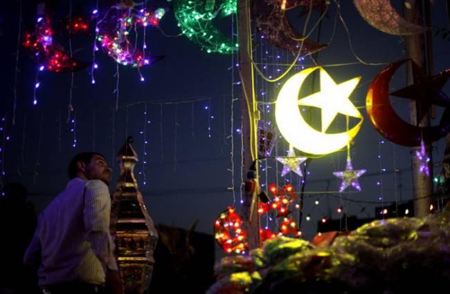 Подарок на Рамадан: восточный светильник