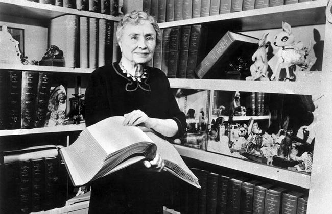 Хелен Келлер, американская писательница