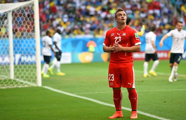 Футболист Джордан Шакири