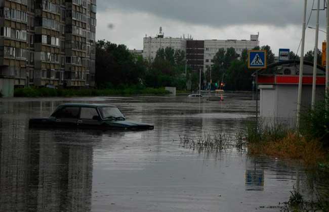 Казань затопило после ливня