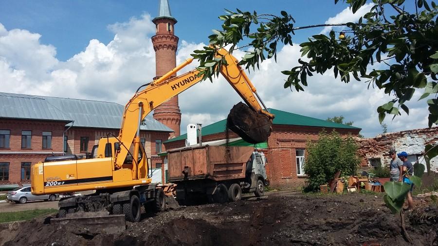 В Буинске началось строительство нового медресе