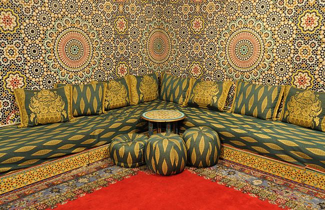 Красивый марокканский стиль в интерьере
