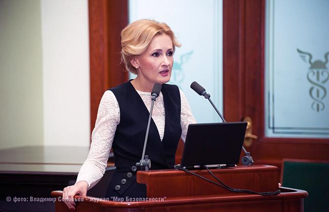 Российский депутат Ирина Яровая