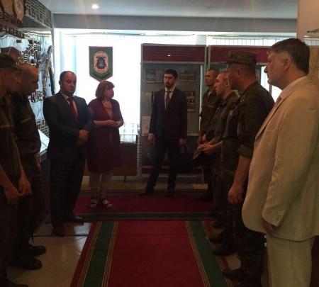 Религиозные деятели встретились с военнослужащими-мусульманами