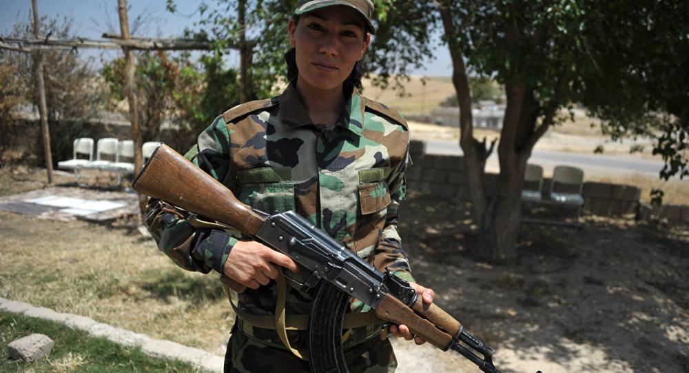 Женщины будут сражаться против ИГИЛ