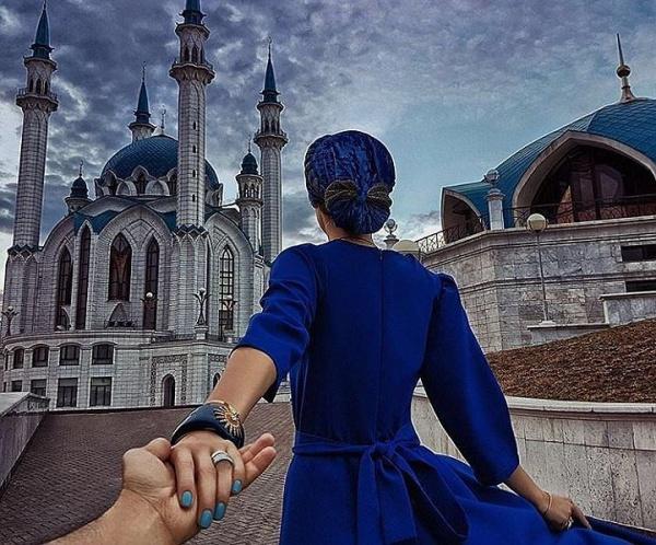 Один из известнейших фотографов мира сделал свой знаменитый снимок «Следуй за мной» на фоне Кул Шарифа