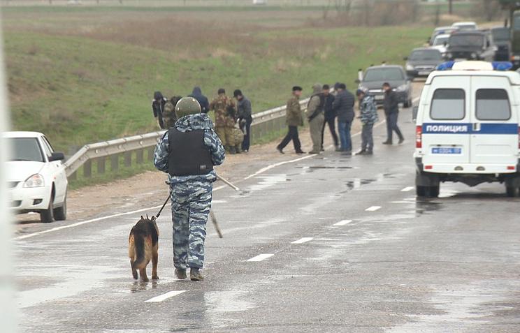 Взорванный автомобиль с телами двух человек найден в Дагестане
