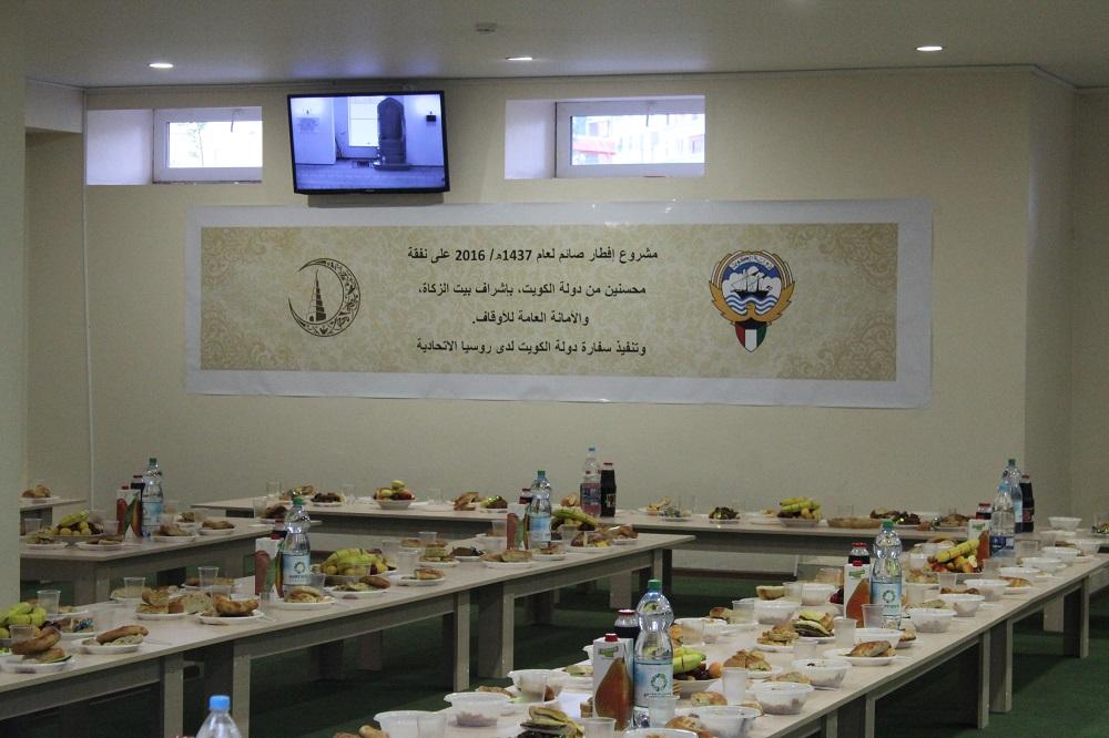 Дипмиссия Кувейта провела ифтары в мечетях Казани