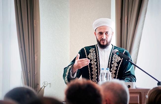 Поздравление с праздником Ураза от муфтия Татарстана Камиля хазрата Самигуллина