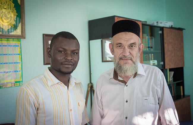Габдулла хазрат Галиуллин и бенинский студент Габдульгаффар