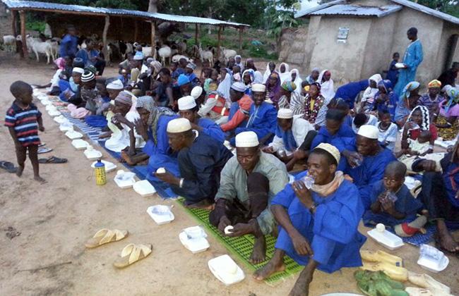 Ифтар в Бенине
