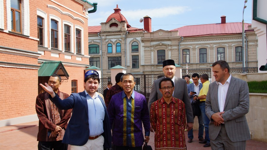 Делегация Индонезии посетила ДУМ РТ