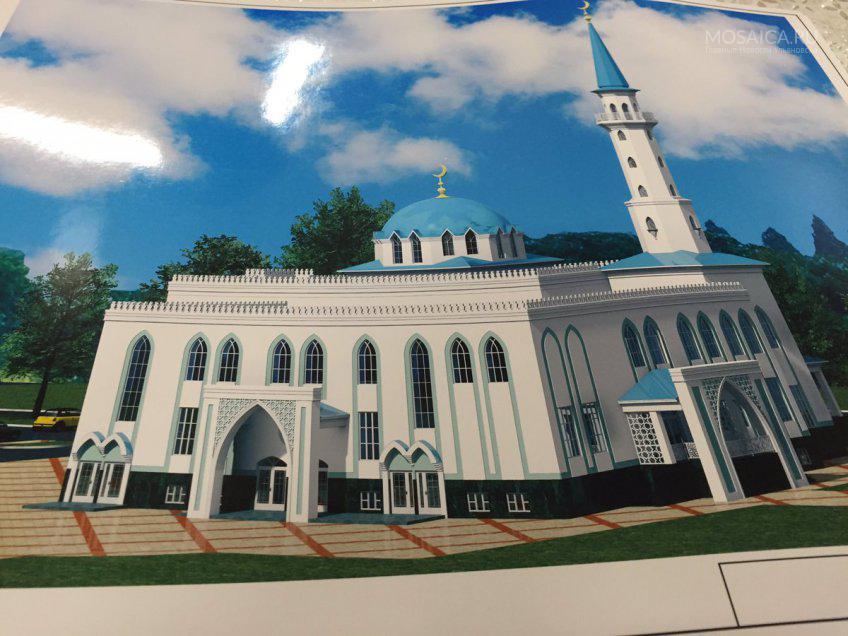 Осенью в Ульяновске начнут строительство новой мечети