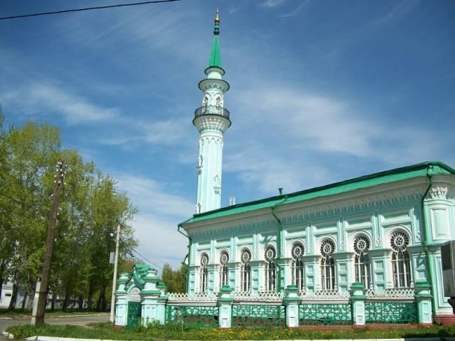 Мечеть до начала реконструкции