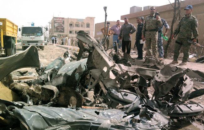 Последствия теракта в Сирии