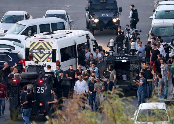 Волнения в Турции