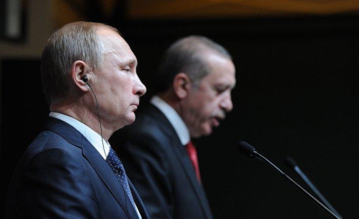 СМИ: Эрдоган объявил о создании союза с Россией и Ираном