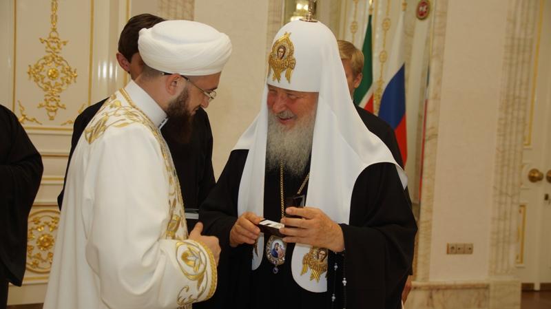 Патриарх Кирилл в Казани: в исламе нет опасности