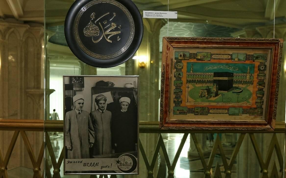 Сегодня в Казанском Кремле открылась выставка, посвященная Ахматзаки Сафиуллину