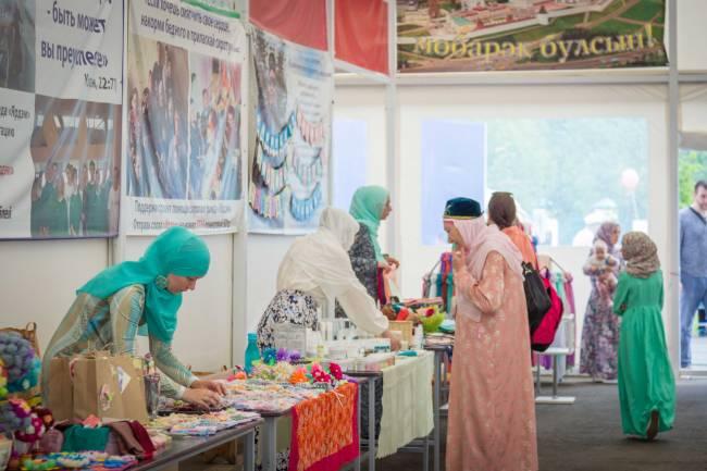 Халяль-ярмарка в Шатре Рамадана