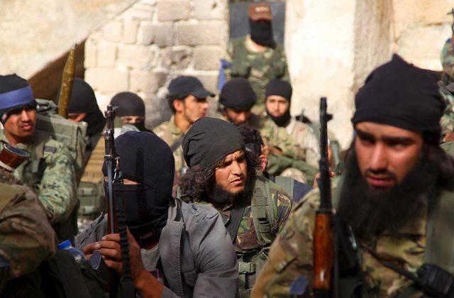 Формирование боевиков ИГИЛ