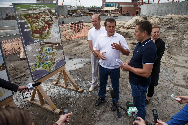 Мэр Казани купит для городского зоопарка семь зебр