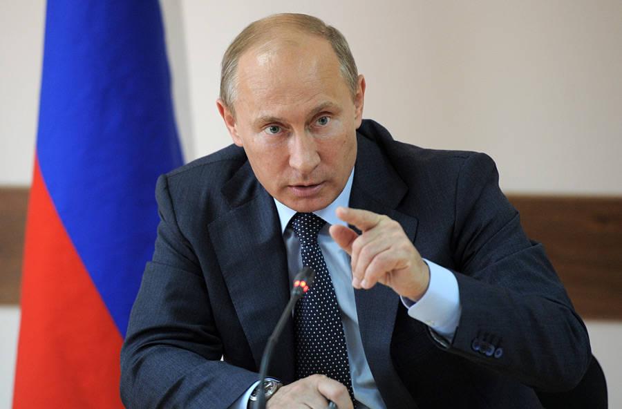 Владимир Путин обвинил Украину в переходе к террору