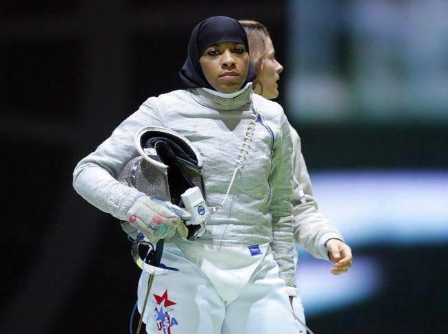 Фехтовальщица в хиджабе опасается исламофобии