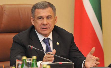 Минниханов примет участие во встрече Путина и Эрдогана в Санкт-Петербурге