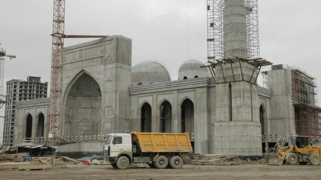 В Чечне строится мечеть в честь Рамзана Кадырова