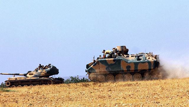 Турецкий спецназ вошел в Сирию