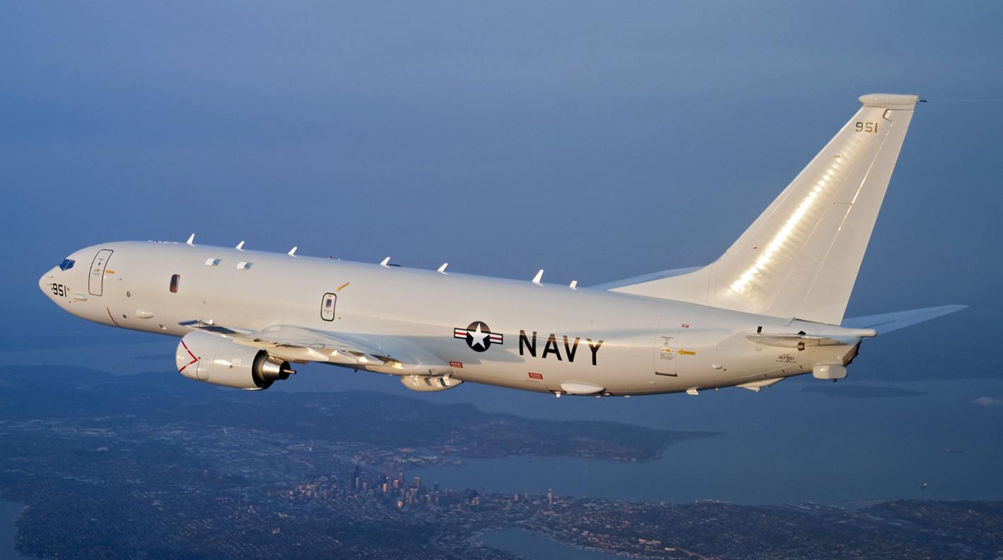 Американский разведывательный самолет приблизился к российским базам в Сирии