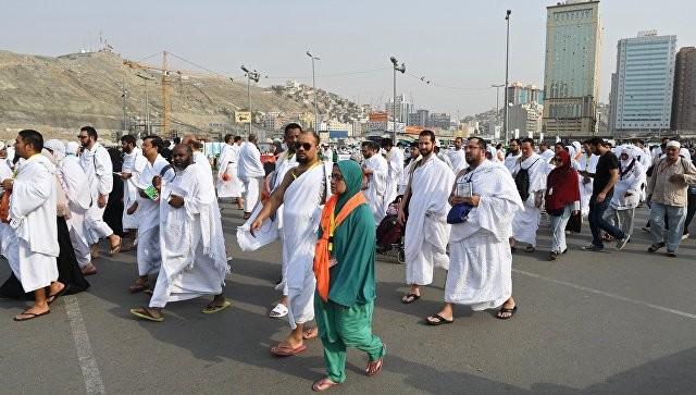 ВМекку нахадж прибыло более 1,5 миллионов паломников