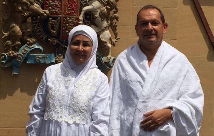 Британский посол совершил свой первый хадж