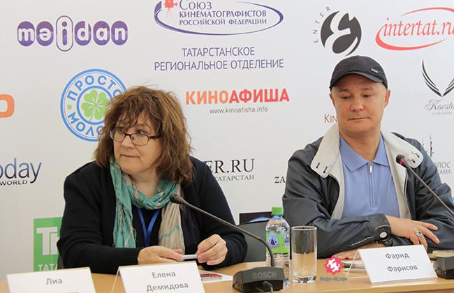 Фарит Фарисов (справа)