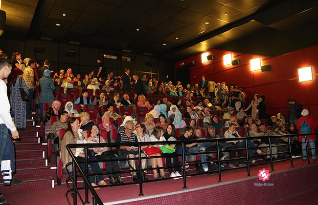 Зрители Казанского фестиваля мусульманского кино
