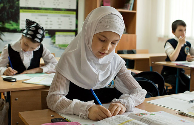 Запрет хиджаба в школе - важный аргумент