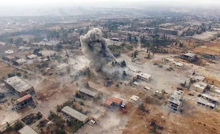 МИД Турции обвинил режим Асада в военных преступлениях