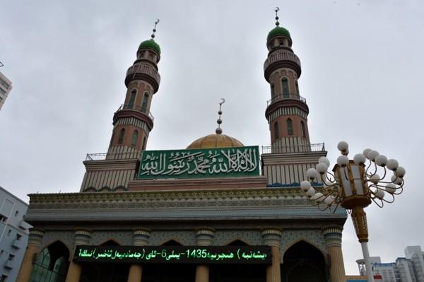 Татарская мечеть Урумчи (Китай)