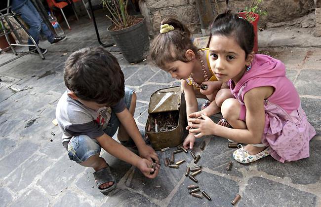 Мусульмане и христиане помолятся о погибших в Алеппо детях