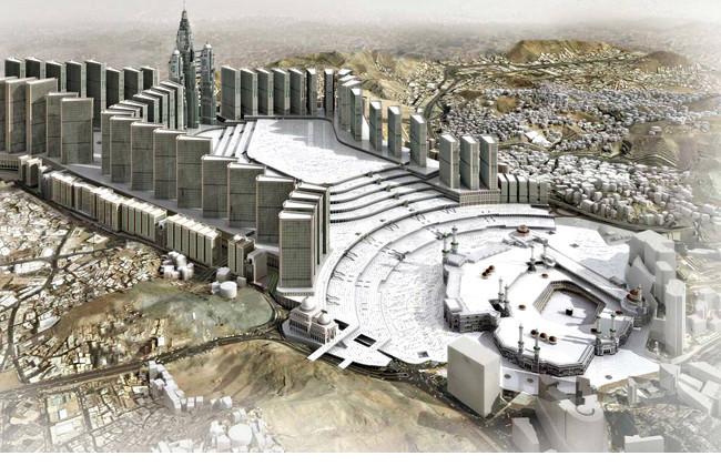 В Запретной мечети Мекки закрыли южные ворота