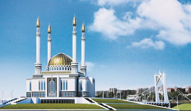 Проект уфимской мечети