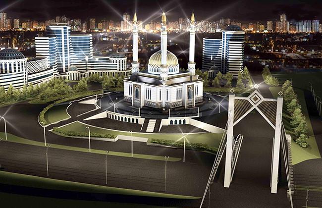 Проект башкирской мечети