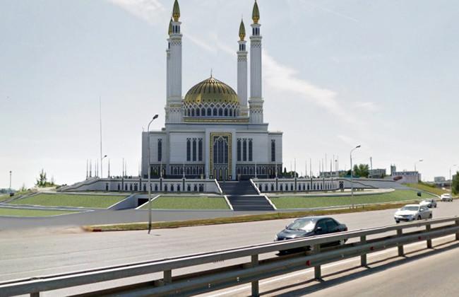 Проект мечети в Уфе