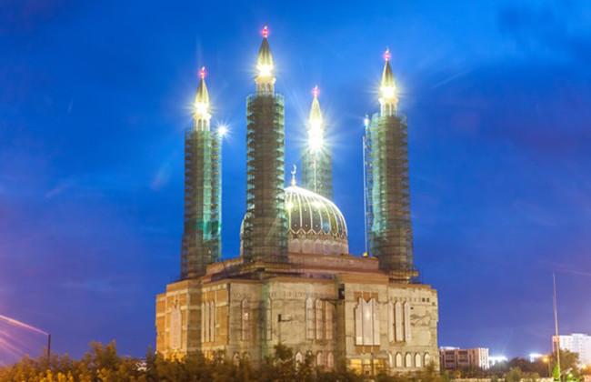 Недостроенная мечеть в Уфе