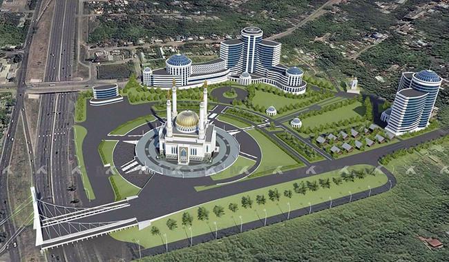 Проект Муслим-сити в Уфе