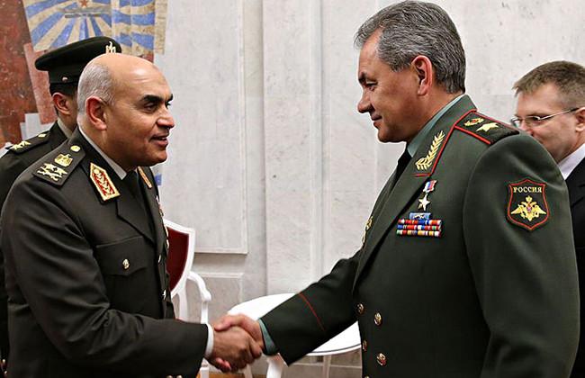 Русские десантники впервый раз высадятся вЕгипте