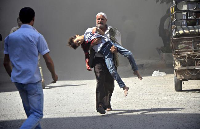«Это сделали варвары»: очевидцы — RT об обстреле в Алеппо, при котором погибли дети