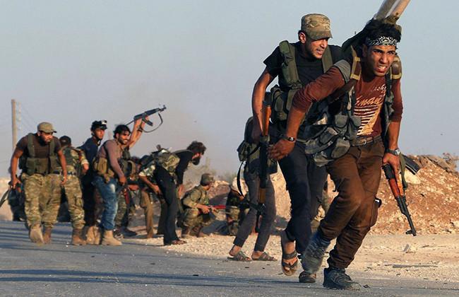 В Сирии мятежники захватили оплот ДАИШ