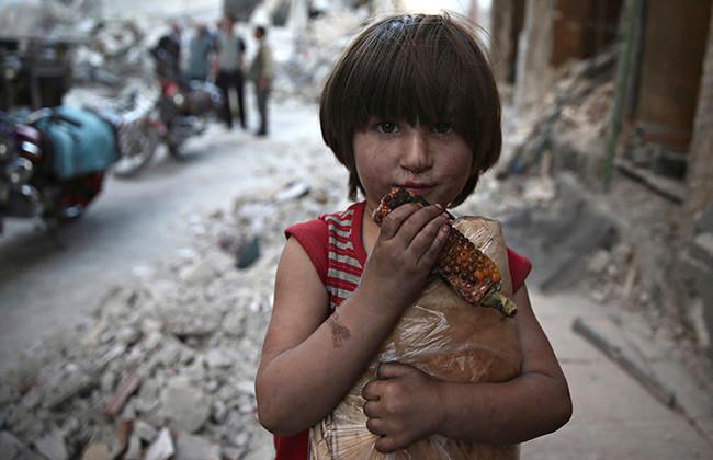 Дети в Сирии не видят ничего кроме войны